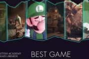 Номинанты на звание лучшей игры от BAFTA Games Awards