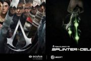 Ubisoft анонсировала новые Tom Clancy's Splinter Cell и Assassin's Creed, но для Oculus
