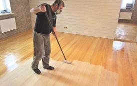 Рекомендации по нанесению лака на деревянный пол