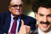 Борат попытался оправдать адвоката Дональда Трампа за скандальную сцену из нового фильма