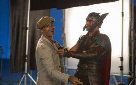 Крис Хемсворт и Тайка Ватити поучаствовали в ритуальной церемонии по случаю начала съёмок «Тора 4»