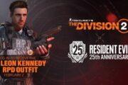 В сетевом шутере The Division 2 появятся костюмы и снаряжение из серии Resident Evil