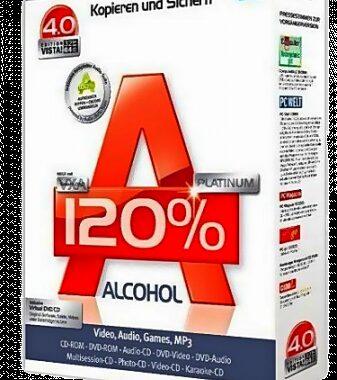 Alcohol 120% 2.1.0 Build 30316 РС | + RePack by KpoJIuK Multi/Ru